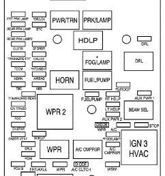 gmc canyon mk1 first generation 2007 fuse box diagram [ 699 x 1381 Pixel ]