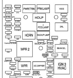 gmc canyon mk1 first generation 2011 2012 fuse box diagram [ 707 x 1406 Pixel ]