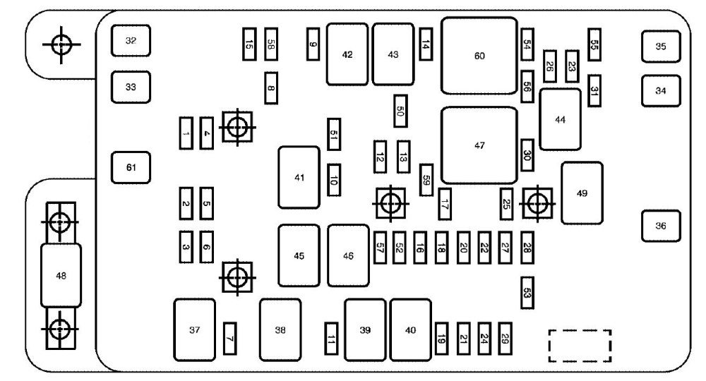 medium resolution of 2006 envoy fuse box diagram wiring diagram schematics 2004 buick rendezvous fuse diagram 2007 buick rainier