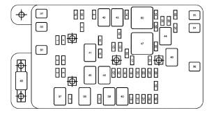 GMC Envoy (2007  2009)  fuse box diagram  Auto Genius