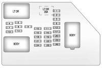 GMC Sierra (2009 - 2013) - fuse box diagram - Auto Genius