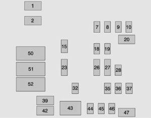GMC Sierra (from 2014)  fuse box diagram  Auto Genius