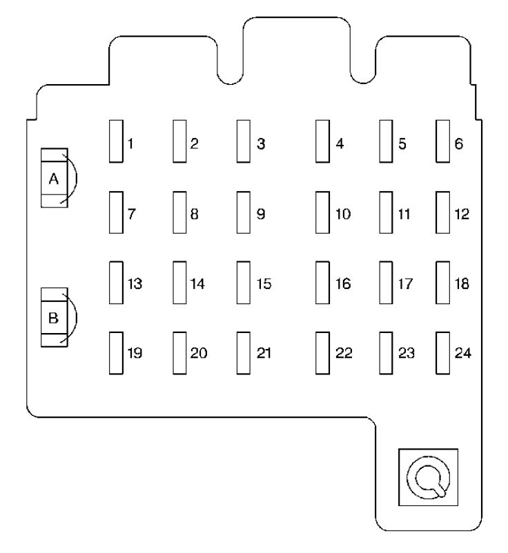 1989 chevrolet astro fuse box diagram
