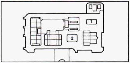 1990 Geo Prizm Fuse Box Diagram : 31 Wiring Diagram Images