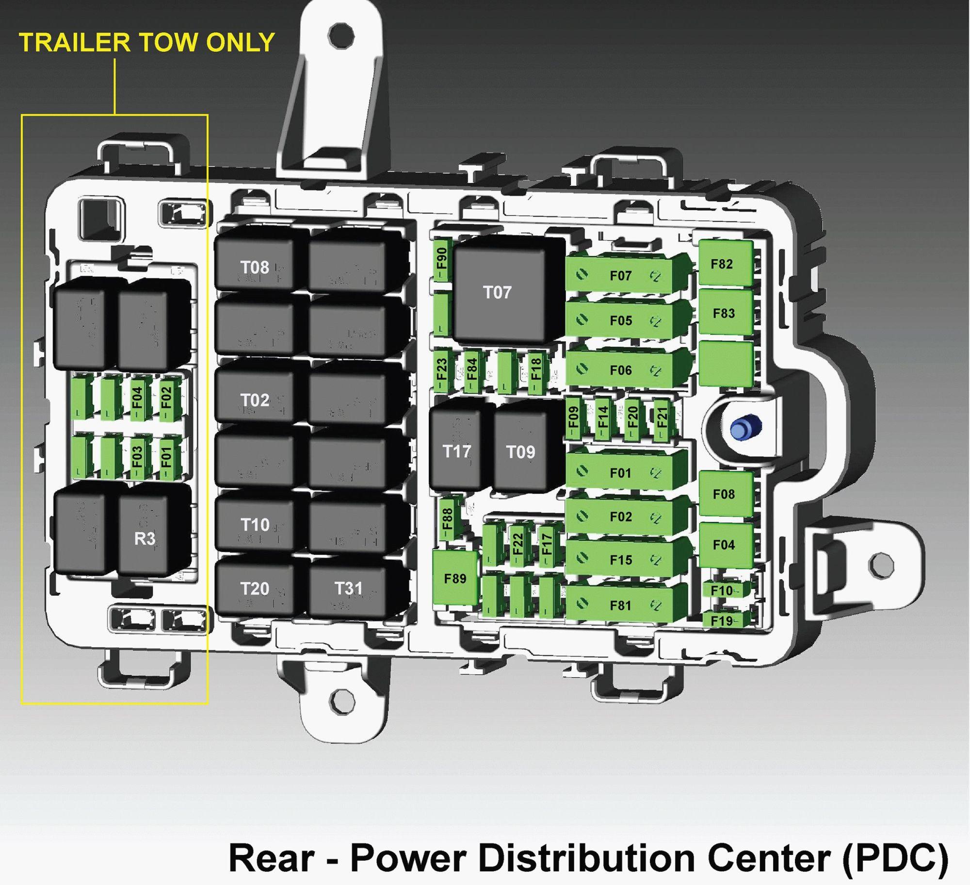 hight resolution of alfa romeo giulia fuse box diagram rear power distribution center pdc