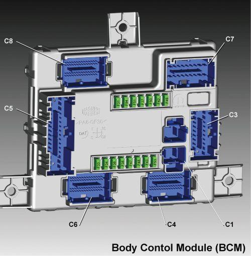 small resolution of alfa romeo giulia fuse box diagram body control module bcm