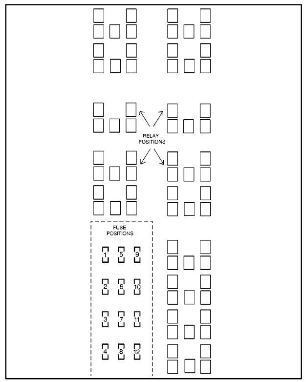 98 lesabre fuse box diagram