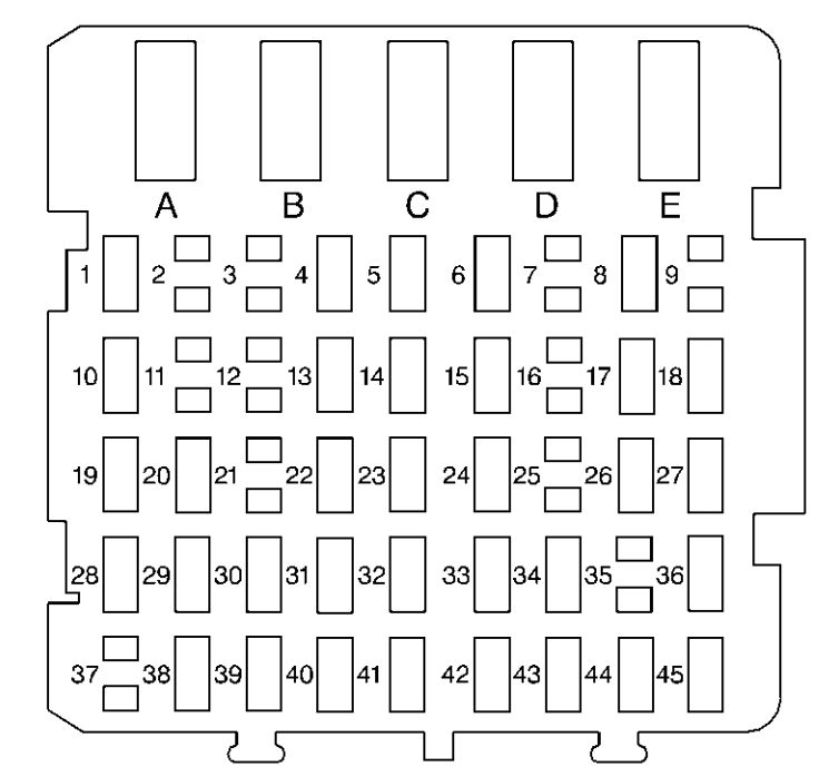 1999 Buick Regal Fuse Box Diagram : 33 Wiring Diagram