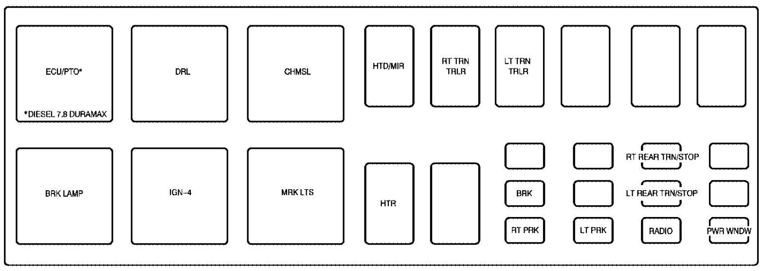 gm c6500 fuse box wiring diagram online rh 7 9 lightandzaun de 1987  corvette fuse box