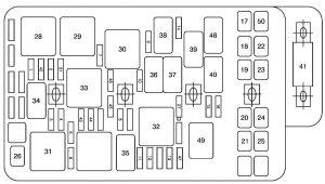 saturn aura 2007 fuse box auto electrical wiring diagram Escape 2001 Fuse Box Diagram related with saturn aura 2007 fuse box