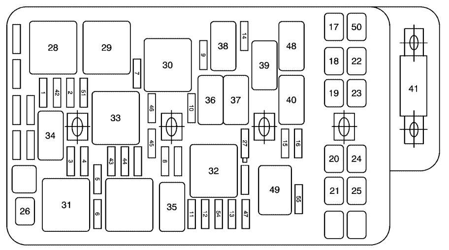 2008 lexus is250 fuse diagram