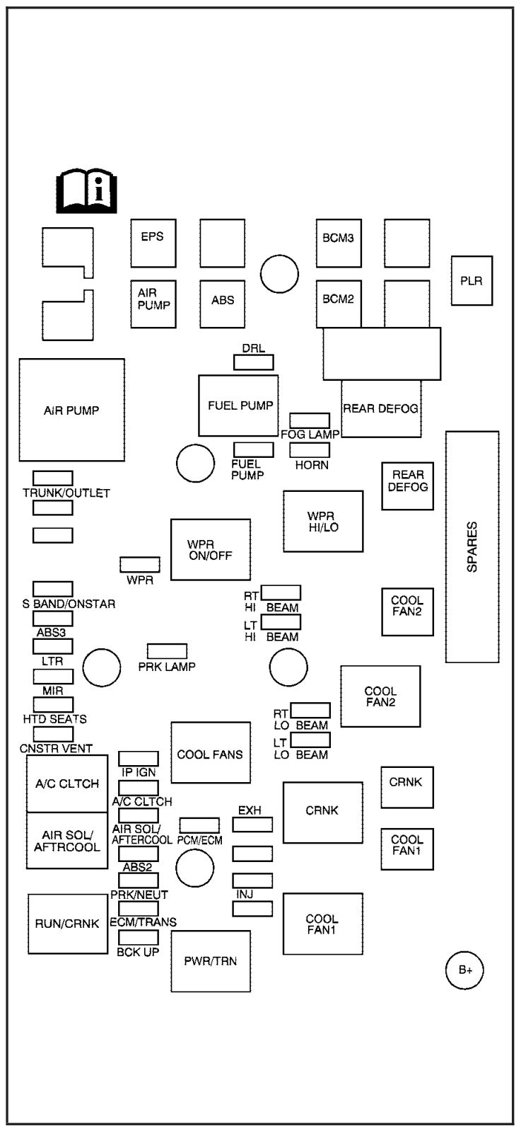 Circuit Electric For Guide: 2007 pontiac g5 fuse box diagram