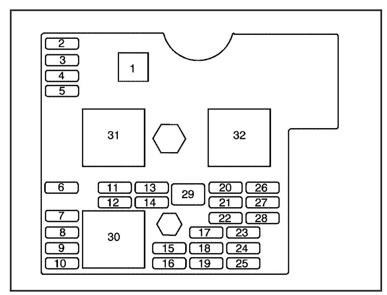 2009 Pontiac Vibe Fuse Box Diagram : 34 Wiring Diagram