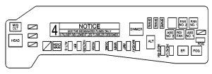 Pontiac Vibe Fuse Box 2003  Trusted Wiring Diagrams