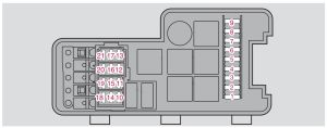 Volvo S60 mk1 (First Generation; 2008)  fuse box diagram