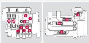 Volvo V60 (2016)  fuse box diagram  Auto Genius