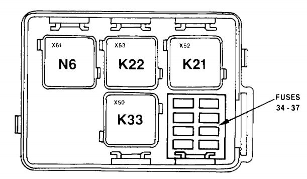Fuse Box 1991 Bmw 735il : 23 Wiring Diagram Images