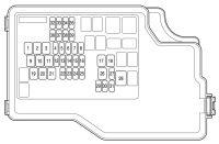 Mazda 3 (2012 - 2013) - fuse box diagram - Auto Genius