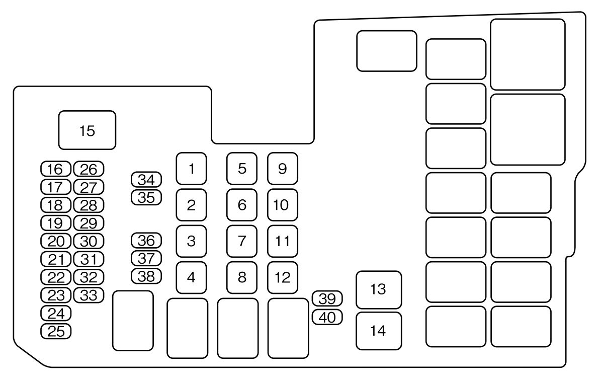 2007 suzuki grand vitara fuse box diagram