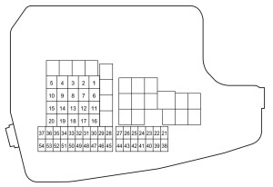 Mazda 6 (2014)  fuse box diagram  Auto Genius