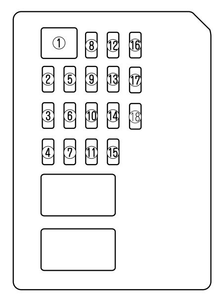2003 Mazda 6i Interior Fuse Box Cover : 37 Wiring Diagram