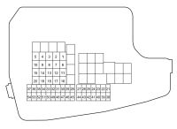 Mazda CX-5 (2017) - fuse box diagram - Auto Genius