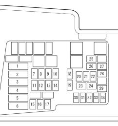 mazda cx 7 2007 2008 fuse box diagram [ 1182 x 712 Pixel ]