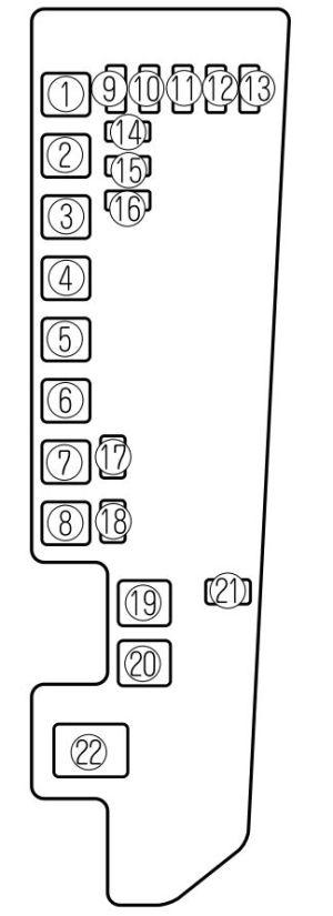 Mazda MPV (2002  2006)  fuse box diagram  Auto Genius