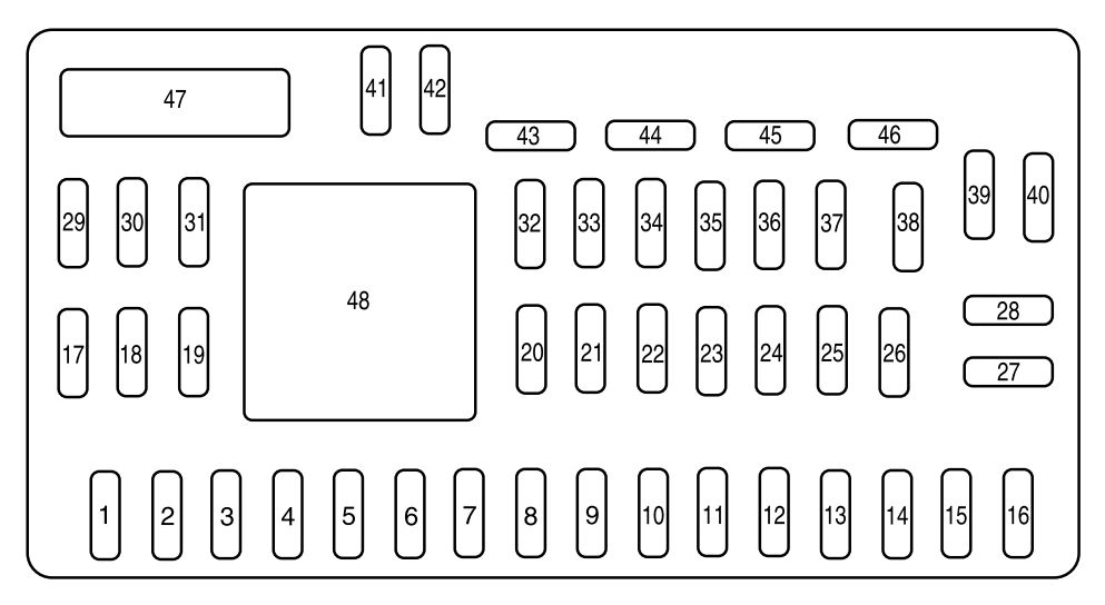 [DIAGRAM] 2005 Mazda 6 Interior Fuse Box Diagram FULL