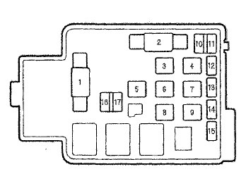 2001 Acura Integra Fuse Box : 27 Wiring Diagram Images