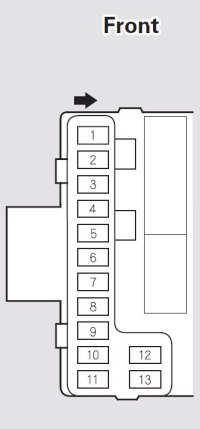 Acura MDX (2005 - 2006) - fuse box diagram - Auto Genius