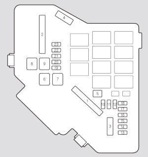 Acura RDX (2009  2010)  fuse box diagram  Auto Genius