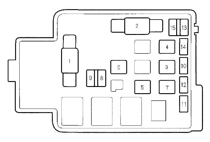 2004 honda crv 22 interior fuse box diagram