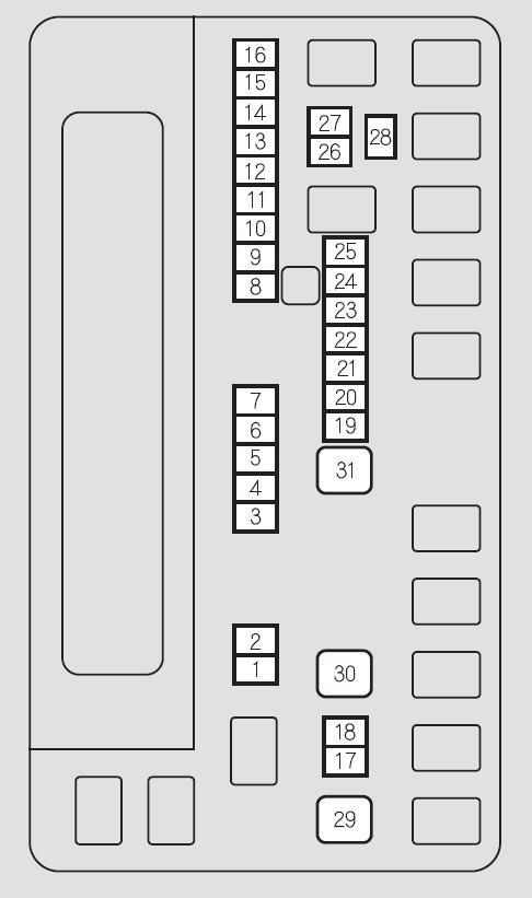 [DIAGRAM] 2001 Honda Odyssey Fuse Box Diagram FULL Version