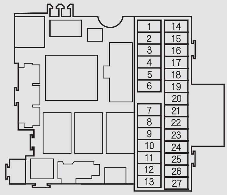 2005 honda s2000 fuse box diagram