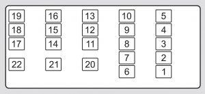 Acura TL (2012)  fuse box diagram  Auto Genius