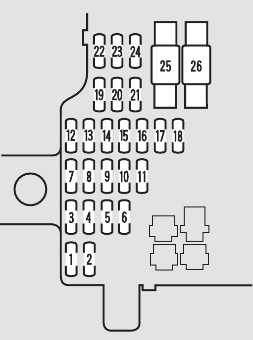 acura tl fuse box location
