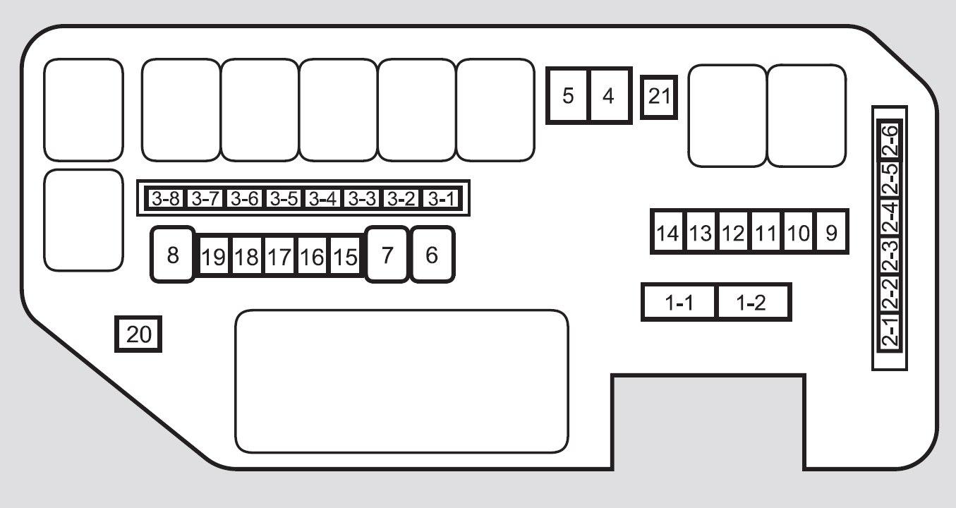 Acura El Fuse Box Diagram - Schematics Online on