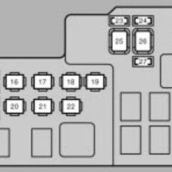 Wiring Diagram For Headlight Switch Flow Refrigeration Cycle Lexus Es330 (2004 - 2006) Fuse Box Auto Genius