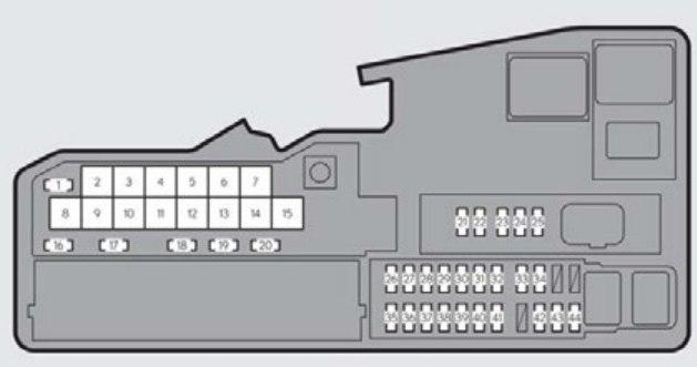 2001 Lexus Rx300 Fuse Box Diagram - All Diagram Schematics