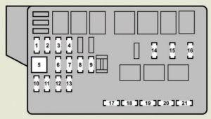Lexus GS350 (2007)  fuse box diagram  Auto Genius