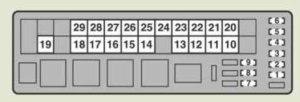 Lexus IS250d (2011  2013)  fuse box diagram  Auto Genius