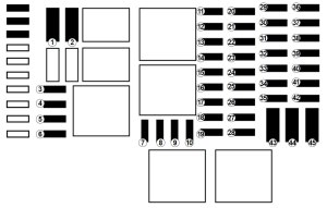 Renault Trafic (2017)  fuse box diagram  Auto Genius