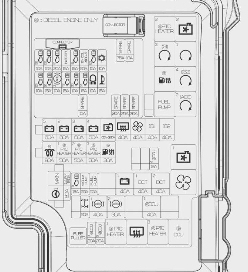 2012 Hyundai Sonata Fuse Box Diagram Lighter. Hyundai