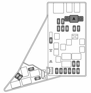 Subaru Impreza (2014  2015)  fuse box diagram  Auto Genius
