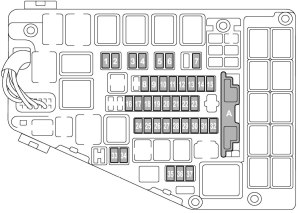 Subaru Legacy (2015)  fuse box diagram  Auto Genius