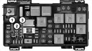 Dodge Grand Caravan (2014  2016) – fuse box diagram
