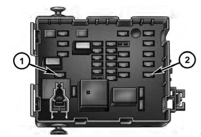 2012 dodge rear fuse box