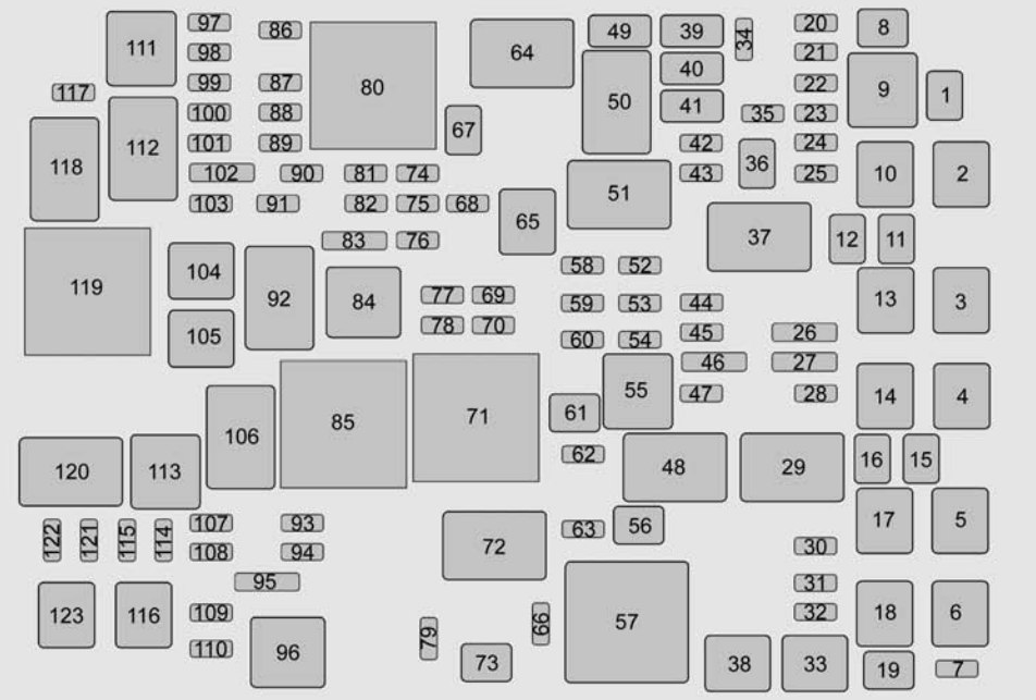 2008 Chevy Malibu Headlight Wiring Diagram Chevrolet Suburban 2015 2016 Fuse Box Diagram Auto