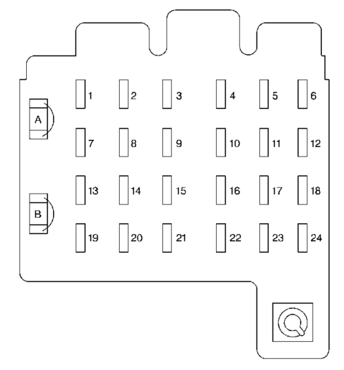 small resolution of chevrolet suburban 1999 fuse box diagram